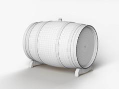Elementary 3D modeling course Barrel Cla