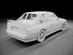 Advanced 3D modeling Course BMW E30 M3 2
