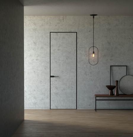 Modern Door Concrete MediaLab ProductViz
