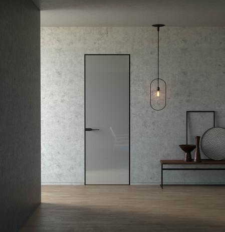 Modern Door Reflective MediaLab ProductV