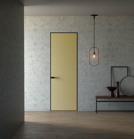 Modern Door Matte Yellow MediaLab Produc