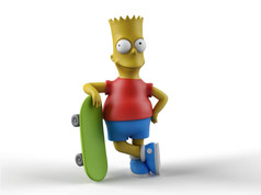 Zbrush Elementary Course Bart Simpson Ra