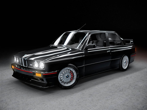 Elementary 3D visualization course BMW E