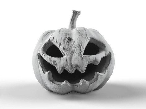 Zbrush Elementary Course Scary Pumpkin C