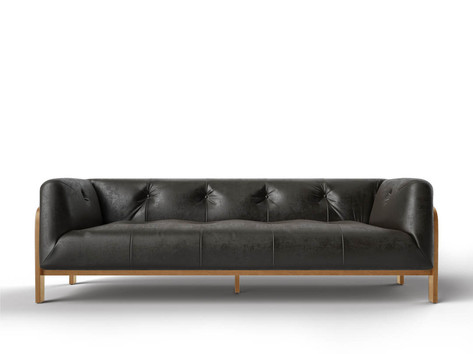 Elementary 3D visualization course Sofa