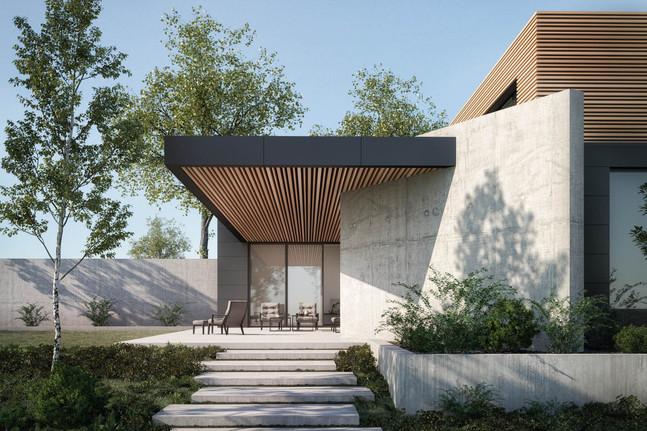 Contemporary Villa 3 MediaLab ArchViz.jp