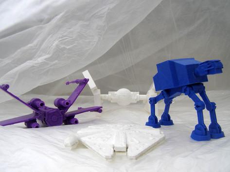 3D scan and print workshop Star Wars Wal
