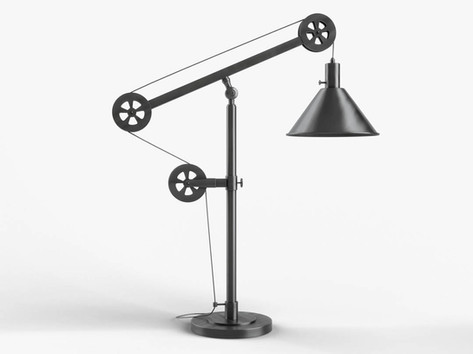 Elementary 3D modeling course Lamp Rende