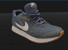 3D scan and print workshop Shoe Scan Raw