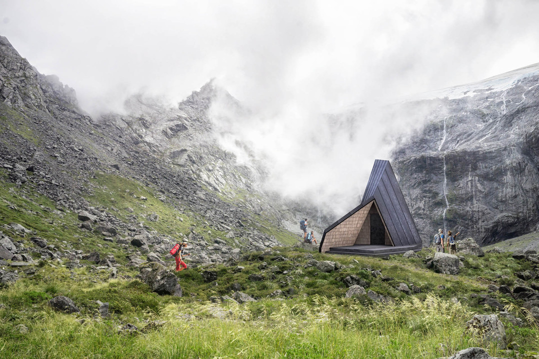 Mountain Shelter Bivouac 2 MediaLab Arch