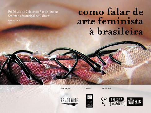 Como falar de arte feminista à brasileira