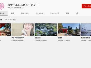 オフィシャルYouTubeチャンネルを開設しました