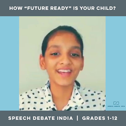 Speech Debate India Live Online Courses - Student Testimonials and Experiences
