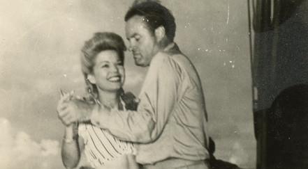 Hope, Bob and Frances Langford     U.S.O