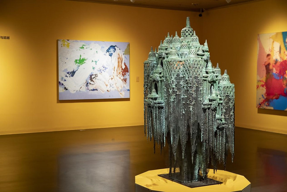 "Nyoman Nuarta is participating in the group exhibition ""Meanders in the Tropics"" held by Tsinghua University Art Museum"