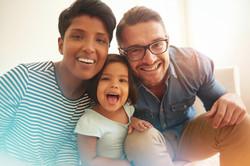 Bi-racial family