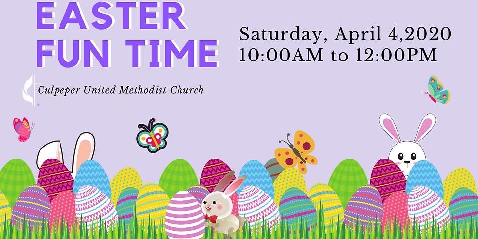 Easter Fun Time