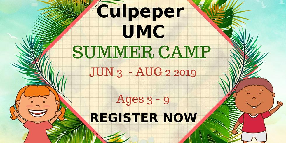 Culpeper UMC Summer Camp
