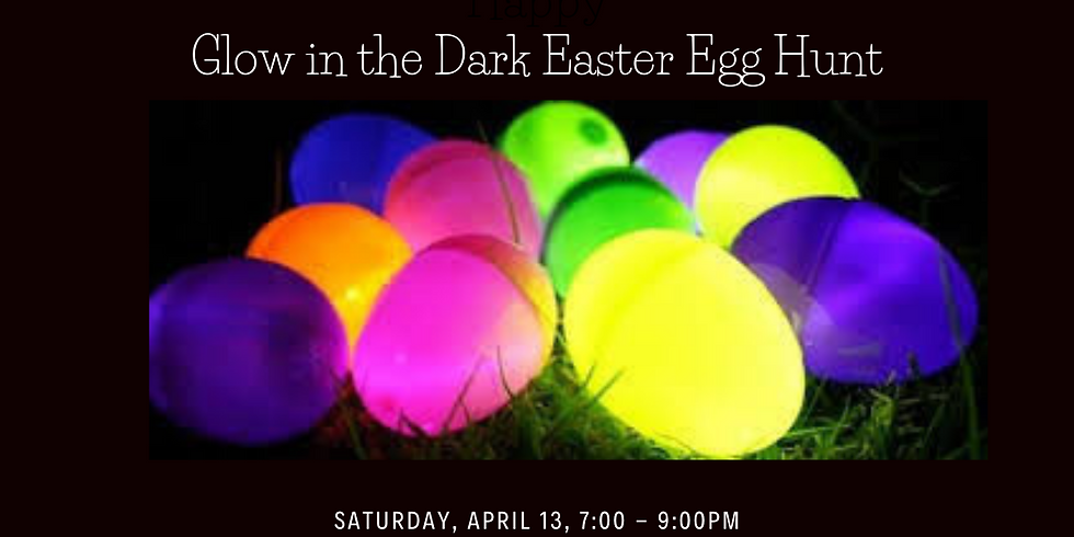 Ignite Youth Glow in the Dark Easter Egg Hunt