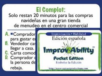 Improv-Ability® Pocket Edition Spanish