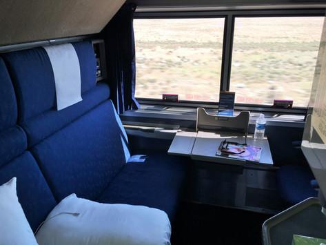 Inside Amtrak Sleeper Rooms: The Bedroom