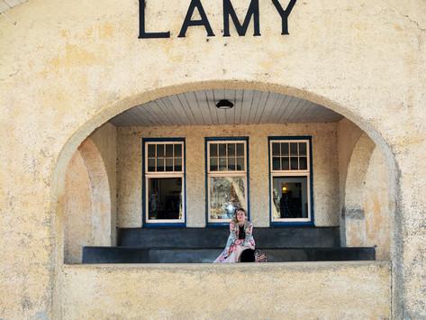 Amtrak Lamy Station: A Photo Journal