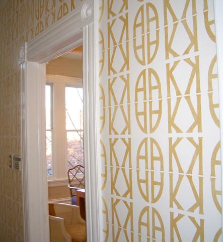 Custom monogram San Francisco