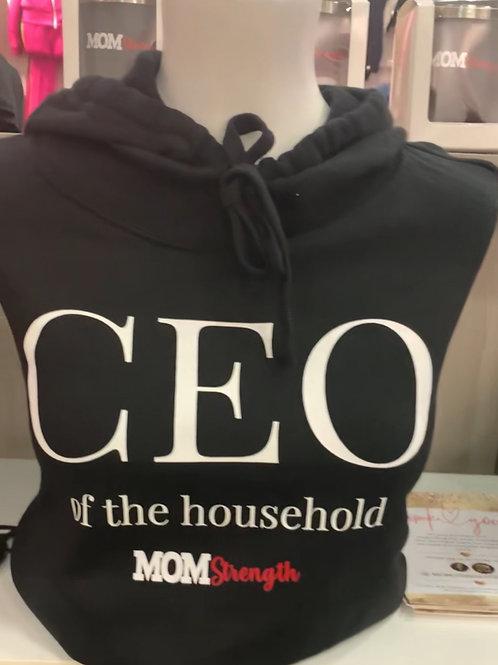 CEO Crop Hoodie
