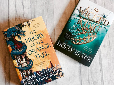 REVIEWS: The Wicked King & The Priory of the Orange Tree.