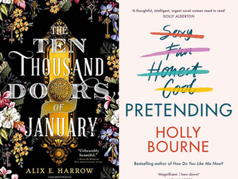 REVIEW: Ten Thousand Doors of January and Pretending