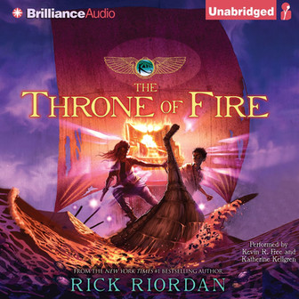 REVIEW: The Kane Chronicles: Throne of Fire by Rick Riordan