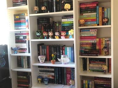 New Bookshelf Tour Part Two.