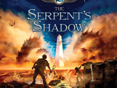 REVIEW: The Kane Chronicles: The Serpents Shadow by Rick Riordan