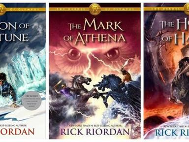 REVIEW: Heroes of Olympus Series by Rick Riordan