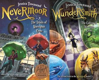 REVIEW: The Trials of Morrigan Crow: Nevermoor & Wundersmith.