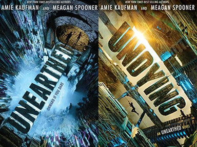 REVIEW: Unearthed + Undying by Amie Kaufman and Meagan Spooner.