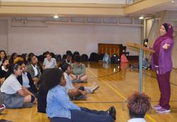 Speaking at SIC Orientation