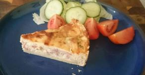 Cheese and Bacon Quiche Recipe