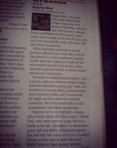 Jack Blackman Review R2