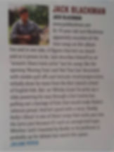 Jack Blackman Review Acoustic Magazine
