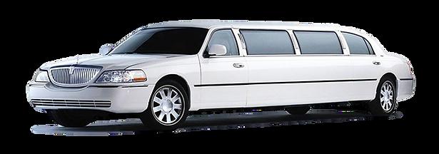 SJ Sedan and Limousine Service White Stretch Limousine