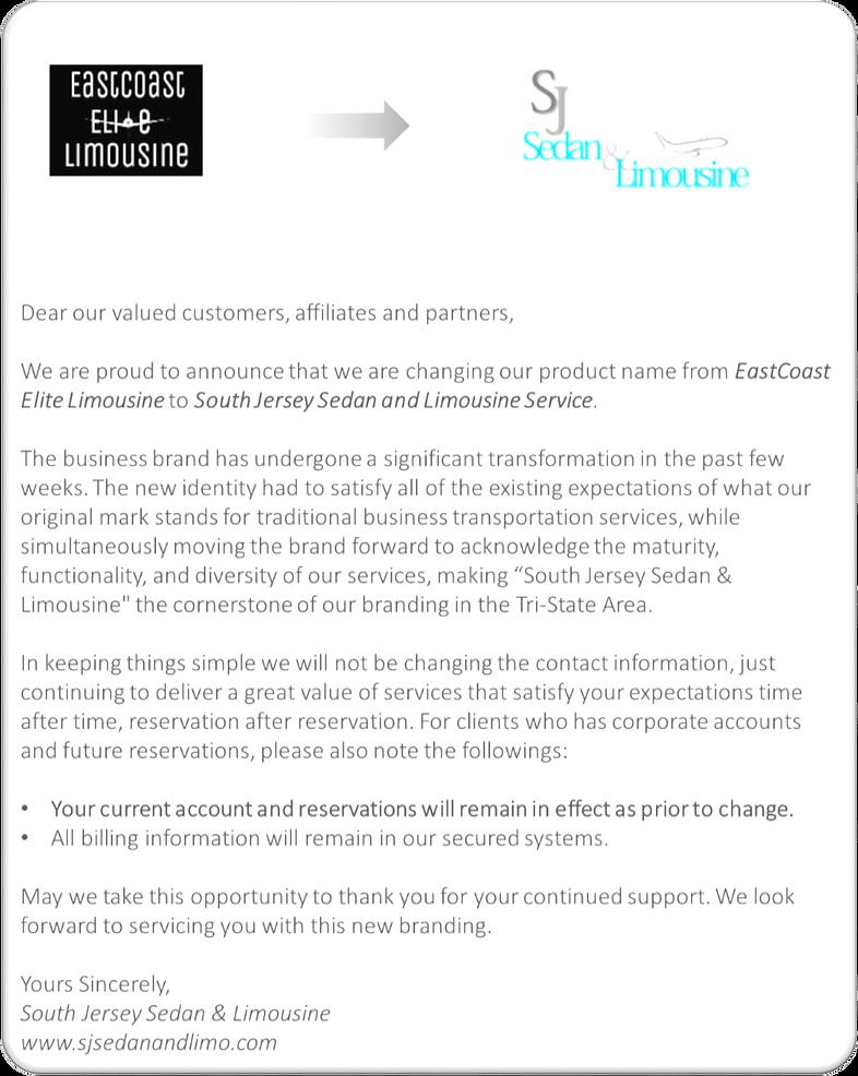 Rebranding Letter