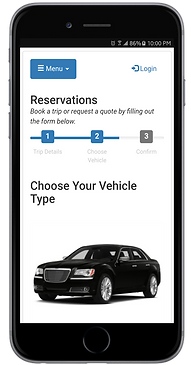 SJ Limo Online Booking Available on Mobile Devices