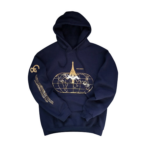 PARIS AGREEMENT HOODIE (NAVY)