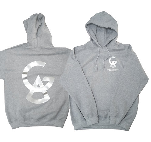 DOUBLE-SIDED FOIL PRINT HOODIE