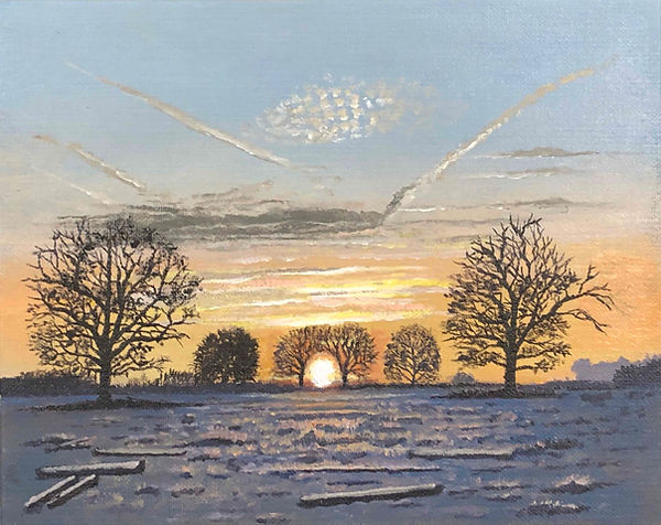 Warwick Sunrise, Winter 2019