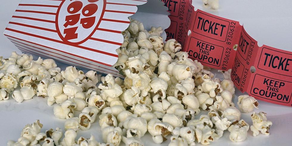 Øykino og popcorn