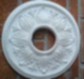 Rosetones par techo de yeso