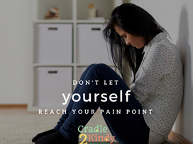 Don't Reach Your Pain Point