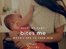Help! My Baby Bites Me